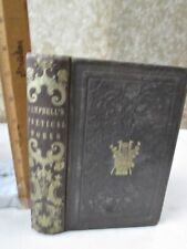 COMPLETE POETICAL WORKS of THOMAS CAMPBELL,1855,Memoir
