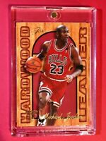 Michael Jordan FLAIR HARDWOOD LEADER 95-96 SPECIAL INSERT BULLS #4 OF 27  Mint!