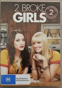 2 BROKE GIRLS - COMPLETE SEASON 2 - 3 DISC SET - AUS REGION 4