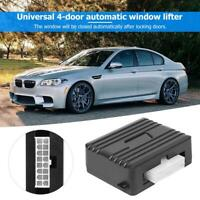 Auto Safety Power Window Roll Up Closer Module Alarm Protector for 4 Doors