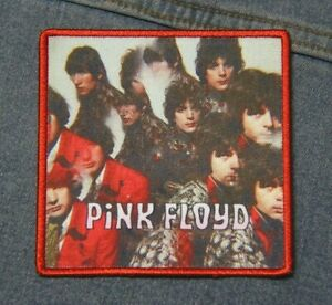Pink Floyd The Piper  patch iron on denim  Official merchandise rock music