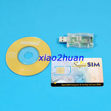 USB SIM Card Reader/Writer 16in1 GSM SIM Cell Phone Magic Super SIM Max Card Set