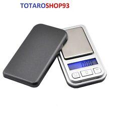 Mini Bilancia de Precisione Tascabile LCD 0,01 - 200 GR Bilancino Digitale Nuovo