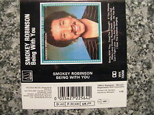 Musikkassette Smokey Robinson / Being with You - RnB Soul Album