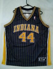VINTAGE RARE PUMA AUTHENTIC INDIANA PACERS #44 AUSTIN CROSHERE JERSEY IN SIZE 48