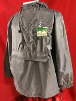 Vtg National Wildlife Federation Nylon Pullover Anorak Rain Jacket Size L Large