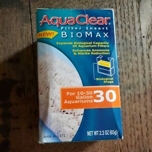 AquaClear Biomax 30 gallon filter - 1 pack