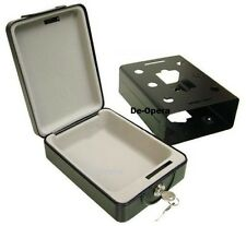 New High Security Portable Safe Travel Deposit Cash Money Box with 2 Keys