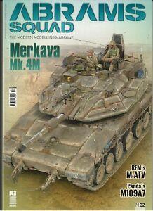 Abrams Équipe 32: The Moderne Modelage Magazine, Merkava Mk.4M Et Autre Articles