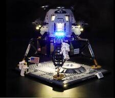 LIGHTLING LIGHT UP KIT FOR LEGO 10266 APOLLO 11 LANDER + USB AA POWER BANK NEW