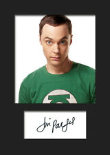 TBBT JIM PARSONS #2 A5 Signed Mounted Photo Print (RePrint) - FREE DELIVERY