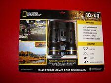 Binoculars National Geographic 10 x 40 Hunting Camping Bird Watching Home Sports