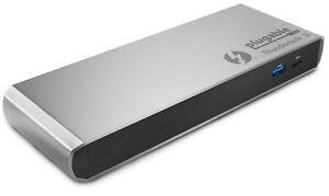 Plugable Thunderbolt 3 Dock, Compatible with Thunderbolt 3 Macs & PCs