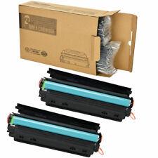 2PK CE285A Black Toner Cartridge Replacement for HP 85A LaserJet P1102W M1217nfw