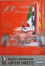FERRARI F1 MONZA Italian Grand Prix 2000 SCHUMACHER ORIGINALE Poster 96cm x 66cm