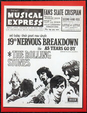 THE ROLLING STONES POSTER PAGE . NME 4 FEB 1966 FRONT COVER . N5