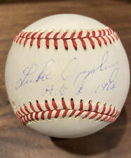 Luke Appling Signed Baseball HOF 1964 Inscribed Autographed PSA/DNA
