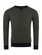 Lambswool Crew Neck Striped Jumpers & Cardigans for Men