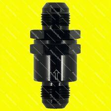 AN10 10AN Aluminium Inline Non Return One Way Check Valve Black W/ 1Yr Warranty