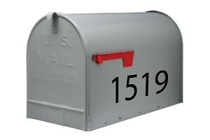 Custom Mailbox Boat Truck Trailer Numbers Vinyl Decals Stickers 2 Sets