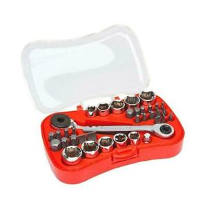 GEARWRENCH 1/4 in. Drive Micro Driver and Socket Set 35 Piece Hand Tool Sets New