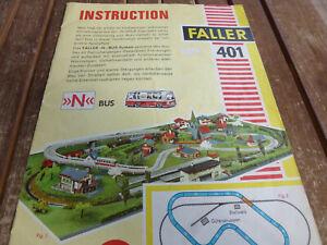 Faller ams: 401 Instruction