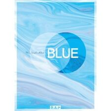 B.A.P[Blue] 7th Single Album A. CD+Poster+Booklet+PhotoCard+S.Gift Honeymoon BAP