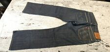 Levis 514 - Straight Cut - 33/32 (Used - Excellent Condition) - Dark Blue