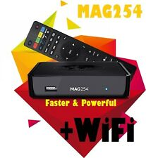 Powerful MAG 254 WiFi IPTV Box Media Streamer FULL HD TV 3D Video UPDATED MAG250