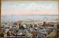 Duluth, MN 1909 Postcard: Aerial / Birdseye View - Minnesota Minn