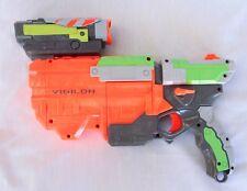 Nerf Vortex Vigilon Disc Blaster Gun with Scope, Tested Working