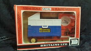 Vintage Britains Farm Implements 9566 High Side Tipper Original in Box 1978 Gift