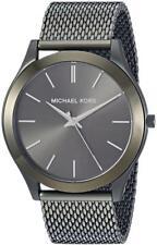 Michael Kors Watches Mens Slim Runway Olive IP Watch Mk8508
