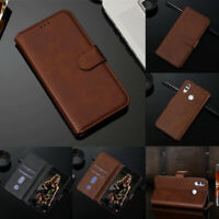 For Huawei P Smart Z (2019) Magnetic PU Leather Case Flip Stand Wallet Cover