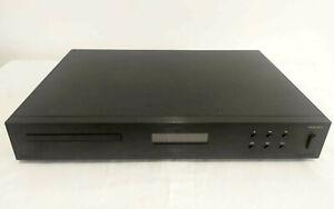 Audiolab 8200 CD / DAC Schwarz | RCA/XLR DA Wandler | Digital Koaxial/Optisch