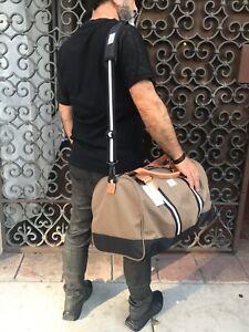 Herschel Khaki Fashion Duffle Bag (Slightly marks on the handle)