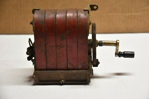 WESTERN ELECTRIC 47a HAND CRANK MAGNETO GENERATOR Telephone VINTAGE ANTIQUE
