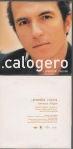 Calogero Prendre Racine Cd Promo