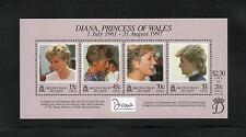 British Virgin Is 1999 Diana Commem Sheet. MINT/MNH One postage for all buys. Rx