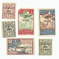 Wallis & Futuna Stamps 6 stamp lot #1 as pictured