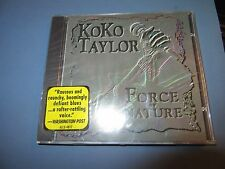 Koko Taylor Force of Nature CD Blues Music New Sealed