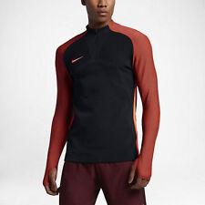 e91f7f4cc Nike Men Strike Aeroswift Soccer Drill Top 807034 016 Black Hyper Orange XXL