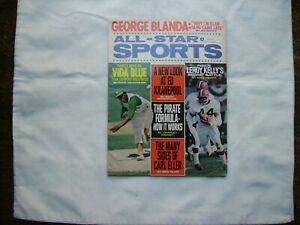 All-Star Sports Magazine November 1971 Vida Blue