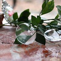 25Pcs Round Clear Epoxy Resin Self Adhesive Domed Cabochon Bottle Cap 25mm
