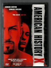 "American History ""X"" Edward Norton - Edward Furlong * D V D - Widescreen"