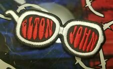 EMBROIDERED ELTON JOHN ROCK BAND PATCH