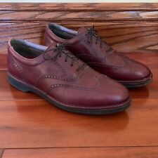 Mens Rockport DresSports Cordovan Leather Wingtip Oxford Dress Shoes Size 9 M