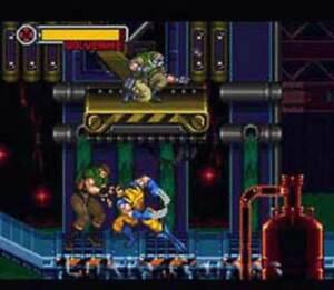 X-Men Mutant Apocalypse - SNES Super Nintendo Game