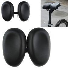 Road Mountain MTB Gel Comfort Saddle Bike Bicycle Cycling Seat Cushion Pad Black