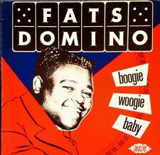 FATS DOMINO - BOOGIE WOOGIE BABY - ACE LP  - 1985 - EEC PRESSING - 18 TRACKS